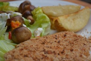 Oven Baked Crumbed Chicken fillet