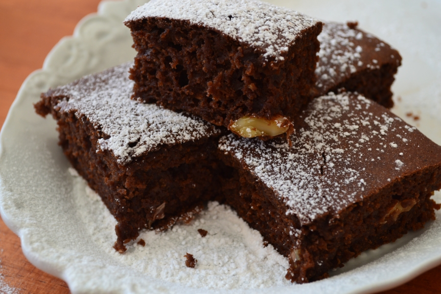 Guilt-free Chocolate Brownies