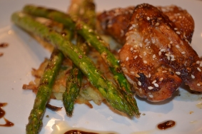 Soy, Honey and Sesame Chicken wings