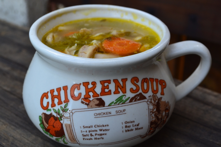 Feel better soon Chicken Soup