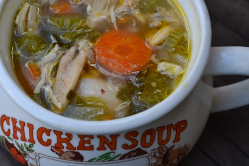 Feel better soon - Chicken Soup