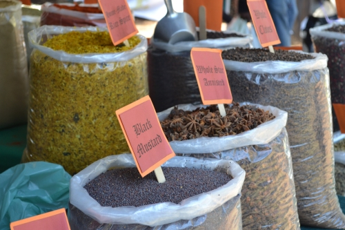 Irene market - Spices galore